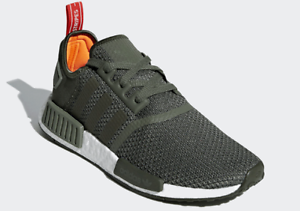 a10a6d60c6 Details about Adidas Originals NMD R1 - Green (B37620), Men's Running Shoes  Athletic Sneakers