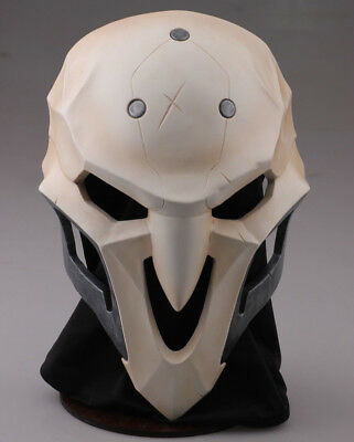 OW Overwatch Reaper Cosplay Mask FRP Full Face Mask Great Collection for OW Fans