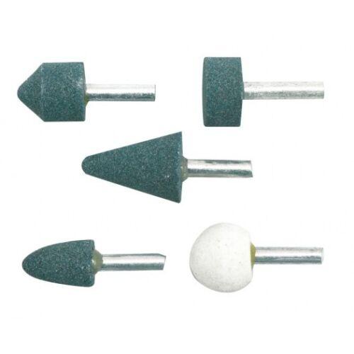 Schleifsteine Schleifstifte Schleifen Schleifstein Bohrmaschine 5 Tlg satz Neu