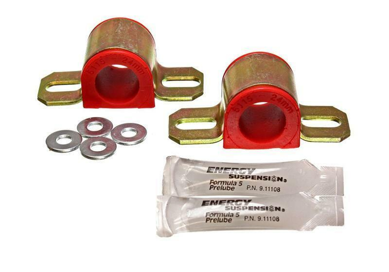 Energy Suspension 2.5111G Sway Bar Bushing Set Fits 87-06 TJ Wrangler