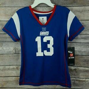 super popular a135c ba60e NFL Team Apparel Girls Beckham Jr #13 New York Giants Jersey ...
