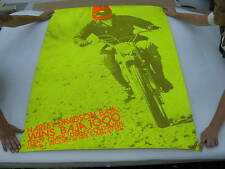 Original 1971 Harley Davidson Baja 1000 Race Poster Terry Clark Dean Goldsmith