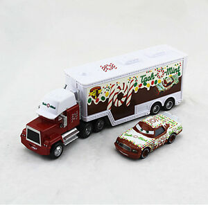 Disney-Pixar-Cars-NO-101-TACH-O-MINT-Mack-Truck-amp-NO-101-Car-1-55-Kid-Gift-Toys