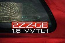 '2ZZ-GE 1.8 VVTLi' 2zzge Sticker for Toyota Celica GTS /T-sport 190 /Corolla XRS