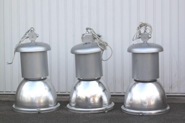 3 x Rademacher Fabriklampe Industrielampe XXL Loft Deckenlampe