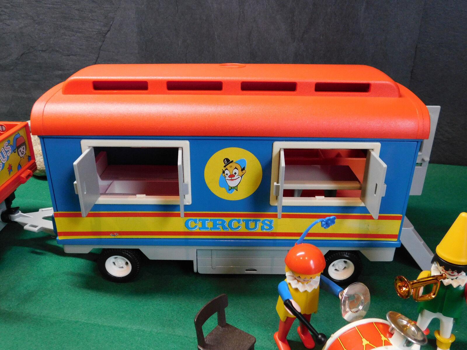 Playmobil Rarität Zirkus-Wohnwagen Zirkus-Wohnwagen Zirkus-Wohnwagen 3477-A 1982 Zirkus-Truck u.a. o. OVP 11e914