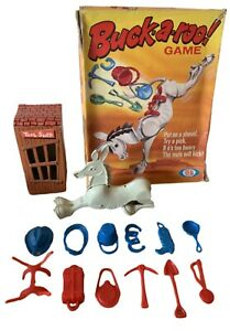 Vintage-Buckaroo-Board-Game-IDEAL-Vintage-Original-1970s-Childrens-Game-VGC