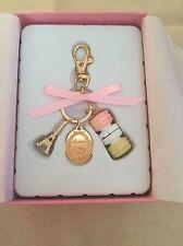 LADUREE Japan ❤ Key Chain Ring New Macaron Pink w/ Original Box