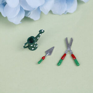 1-12Dollhouse-mini-watering-can-scissors-shovel-set-simulation-pruning-tool-t-D