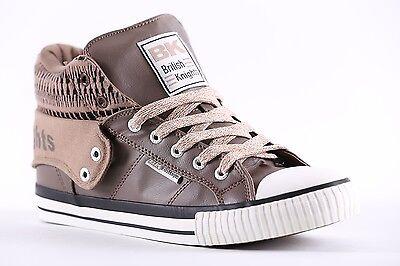 BK British Knights Sneaker Schuhe Roco taupe- black Neuware B34.3744.02