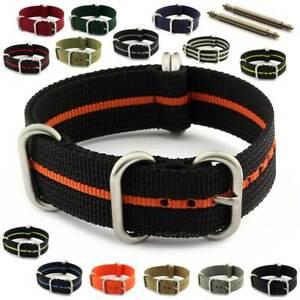 Nato-Nylon-Military-Watch-Strap-Band-Heavy-Duty-18-20-22-24-26-Zulustrong-MM
