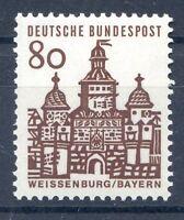 Bund Mi-Nr 461  Einzelmarke (80) -Deutsche Bauwerke- ** Postfrisch 1964