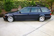 BMW E39 525I/528I/530I/540I CUSTOM TWO PIECE CORSA GT STEEL WHEELS STEELIES