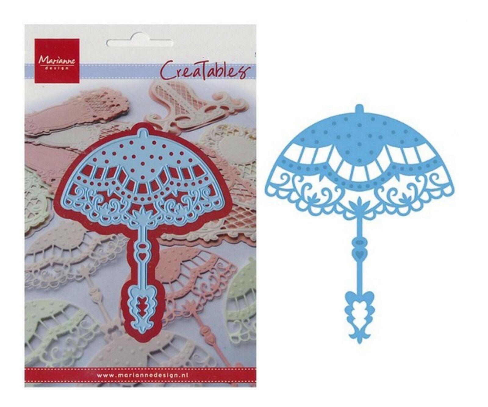 Stanzschablone Marianne Design Schere LR0195 CreaTables Cuttlebug Big Shot