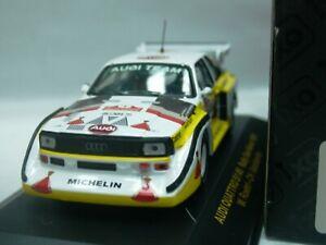 WOW-EXTREMELY-RARE-Audi-Quattro-S1-E2-Rohrl-Sanremo-1985-WRC-1-43-Ixo-Minichamps