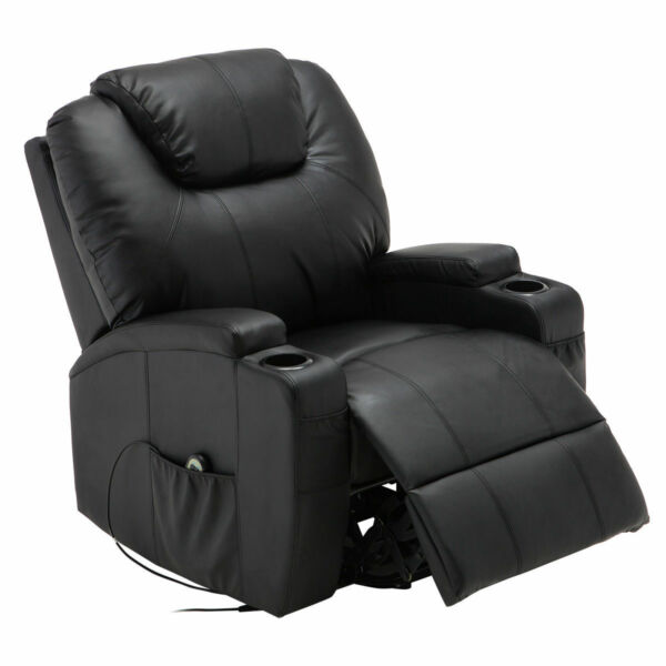 Electric Lift Power Recliner Chair Heated Massage Sofa