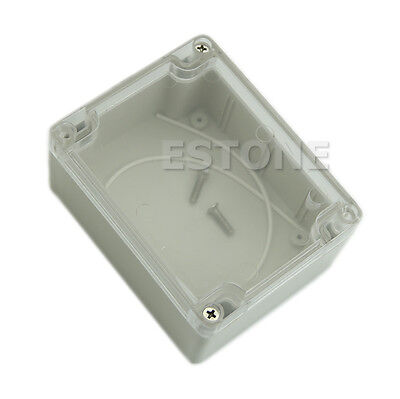115*90*55MM Clear Cover Waterproof Plastic Electronic Project Box Enclosure Case