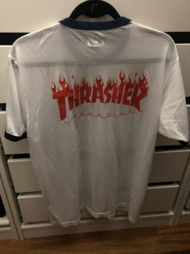 Supreme Thrasher Mesh Tee LARGE