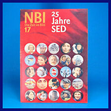 DDR-Zeitschrift NBI 17/1971 Penig Eisrevue Warnowwerft Rostock Weltraumfahrt