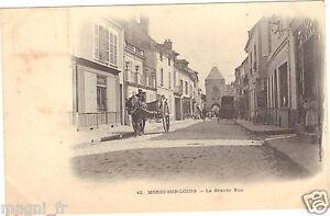 77-cpa-MORET-SUR-LOING-La-Grande-Rue