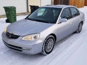2001 Acura EL, Manual, $1900 OBO