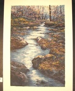 Original-Serigraph-by-Michael-Schofield-Burkes-Creek