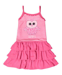 NWT TY Beanie Boo Pink Blue Girl s Pinky Owl Nightgown Gown Pajamas ... 692e79d04cd