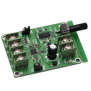 5V-12V-DC-Brushless-Driver-Board-Controller-For-Hard-Drive-Motor-3-4-Wire-New