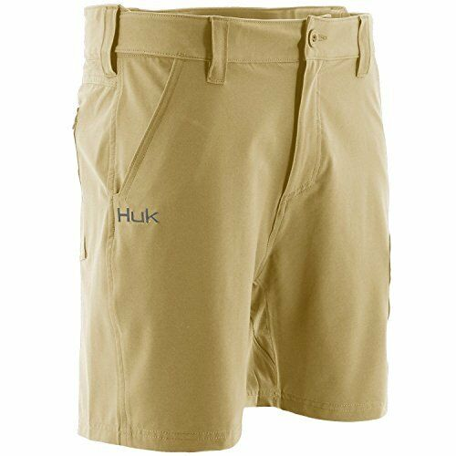 Huk Men's Next  Level 7  Short, Khaki, X-Large  just for you