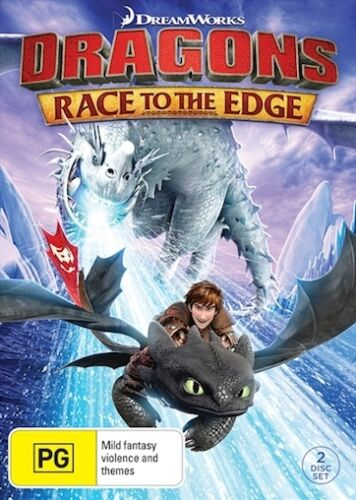 1 of 1 - Dragons - Race To The Edge : NEW DVD