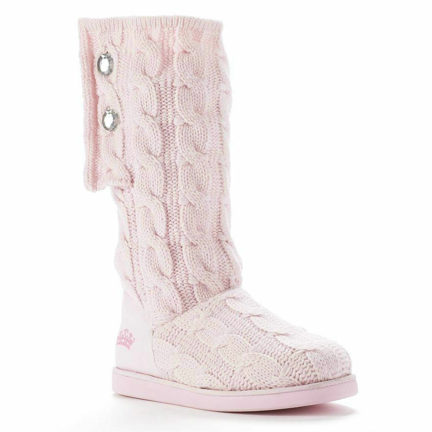 NEW JUICY BOOTS COUTURE BOOTS JUICY MARLIN SWEATER PINK  Donna SALE size 5 ab0b97
