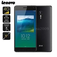 "5.0"" Lenovo ZUK Z2 Smartphone 4G Quad Core Snapdragon 820 4GB+64GB 13MP NEW P2H6"