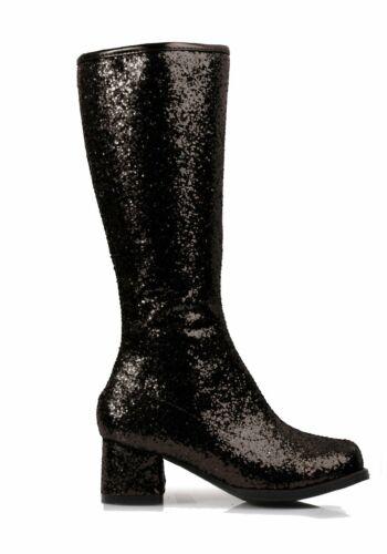 Ellie Shoes 175-DORA-G 1.75 Inch Heel Childrens Glitter Gogo Boot.