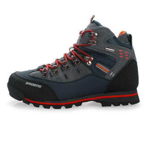 Mens Waterproof Trail Hiking Trekking Shoes Outdoor Casual Boots Lace Up Sneaker