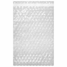10 X 155 Bubble Out Pouches Bags Wrap Cushioning Self Seal Clear Protective