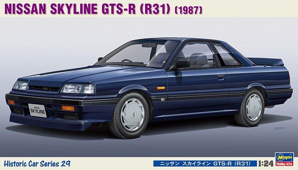 Hasegawa 1 24 Nissan Skyline Gts-R (R31) CC29