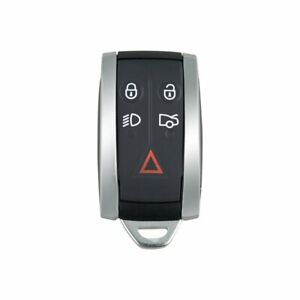 For-Jaguar-X-Type-S-Xkr-Xf-Xk-5-Button-Remote-Smart-Key-Fob-Case-Shell-Blade-A