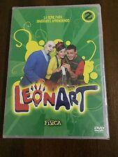 LEONART VOL 2 FISICA - SERIE TV DVD SLIMCASE - 75MIN - NEW SEALED NUEVO EMBALADO