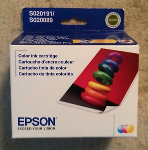 Genuine-EPSON-Stylus-Printer-Ink-Cartridge-Color-S020191-S020089-BRAND-NEW