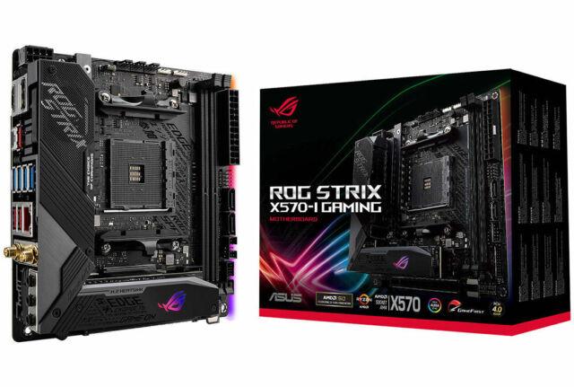 ASUS ROG Strix X570-I Gaming Motherboard