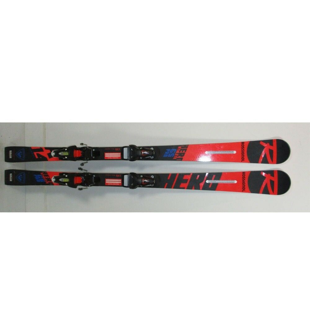 2019 Rossignol Hero Athlete  GS Pro Jr Skis 135cm w Look SPX10 Bindings (MH106)  60% off