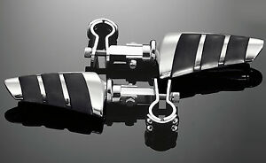 HIGHWAY-PEGS-CRUISE-PEGS-amp-1-inch-25mm-3-PIECE-CLAMPS-HARLEY-METRIC-73-495