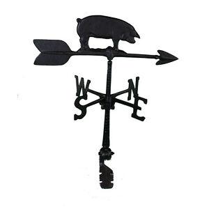 """24/"""" Roof mount Weathervane Black PIG Arrow Directionals New"""