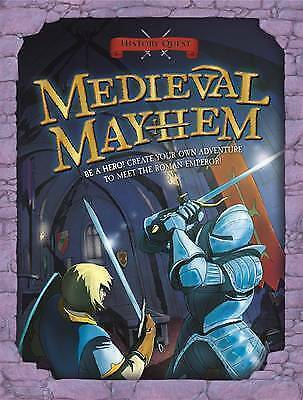 History Quest: Medieval Mayhem-ExLibrary