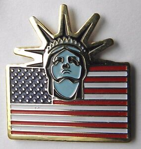 STATUE-OF-LIBERTY-USA-FLAG-UNITED-STATES-AMERICA-CLASSIC-LAPEL-PIN-BADGE-1-INCH