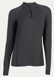 Noble Outfitters Ashley Performance Long Sleeve Shirt-XL-Asphalt