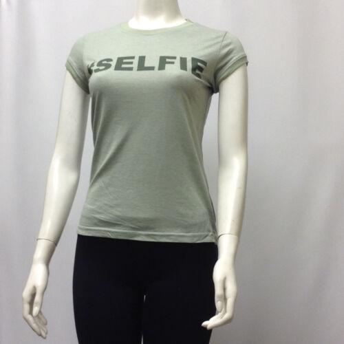 Wholesale lot 48 T-Shirt Tee Juniors Text Design Hashtag SELFIE 65/% Cotton