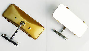 MGA Interior Rear View Mirror with Gold Painted back, MG part AHH5198