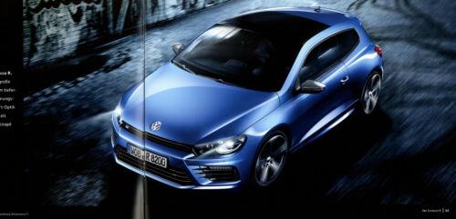 VW Scirocco R Prospekt 2015 10//15 Autoprospekt brochure broschyr prospektus Auto