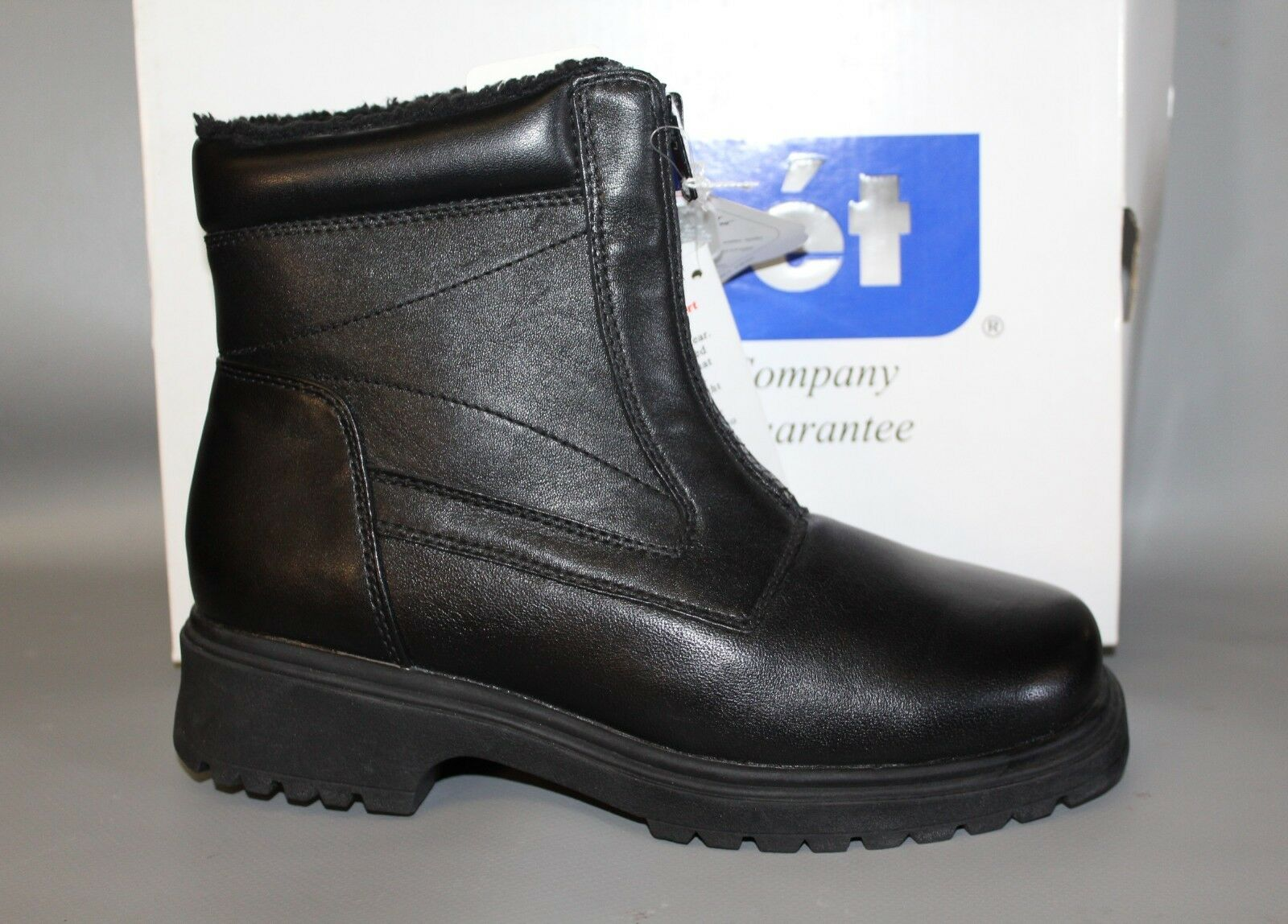 NEW Women's Propét WB101 Waterproof Black Leather Warm Winter Snow Boots